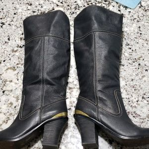 Lucky Brand soft leather convertible boots 6.5